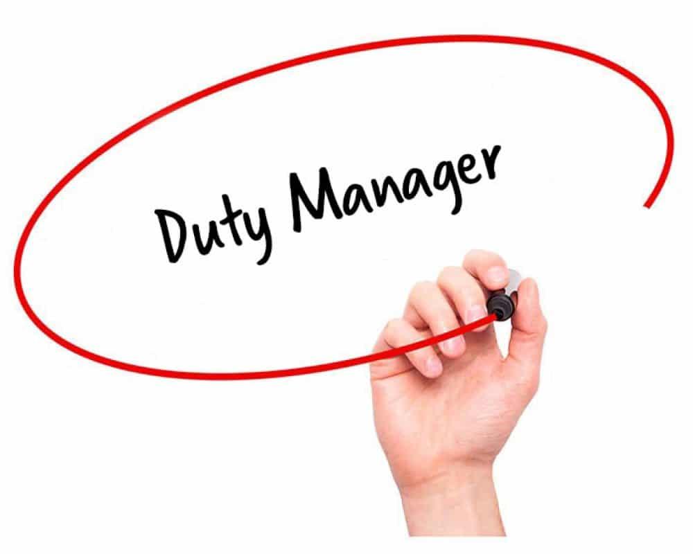 Duty Manager/Job In Qatar