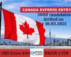 Canada invites 5,000 CEC candidates for PR